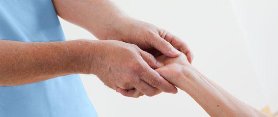 Handmassage Hand Dengle Günter Wolfgang Heilmassage Heilmasseur gewerblicher Masseur haus medicus wilhering