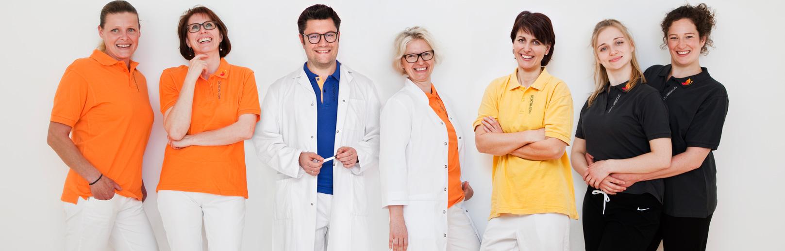 das team der praxisgemeinschaft haus medicus